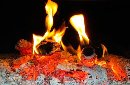 Fire, Flame, Wood Fire, Oven, Burn, Campfire, Wood
