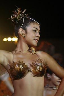 Ethnic, Dancing, Women, Costume, Typical