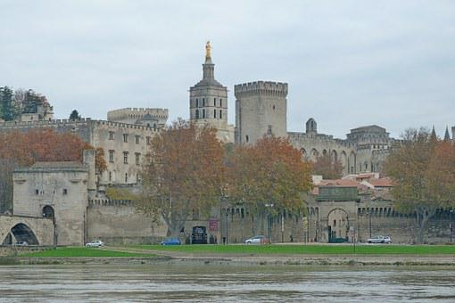 Monuments, Palace, Palace Of The Popes, Avignon