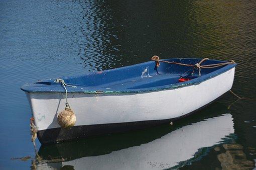 Boat, France, Wharf, Water, Fishermen, Fishing, Blue