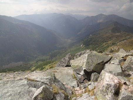 Rocks, Climbing, Tatry, View, Nature, Mountains, Poland