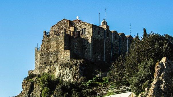 Cyprus, Stavrovouni, Monastery, 3rd Century, Landmark