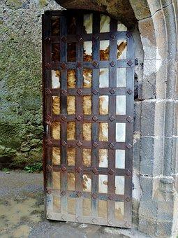 Castle, Medieval, Architecture, Door, France