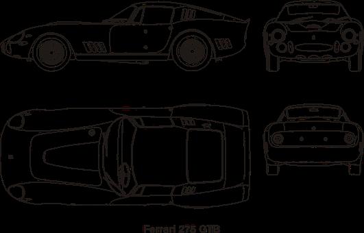 Ferrari, Car, Old, Vintage, Oldtimer, Transportation