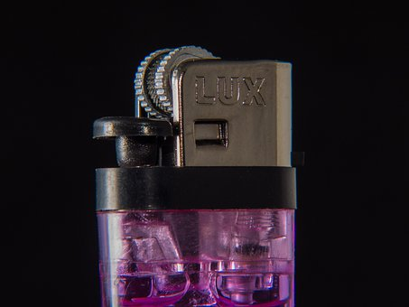 Lighter, Disposable Lighter, Purple