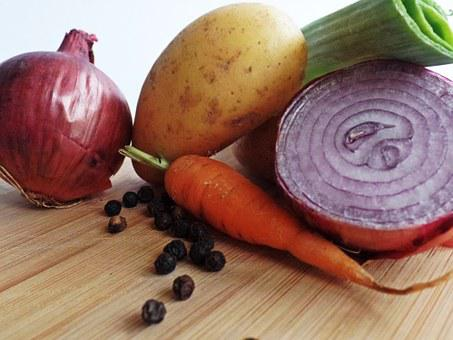 Vegetables, Onions, Nutrition, Food, Eat, Healthy