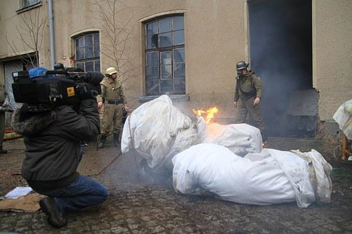 Fire, Filmdreh, Camera