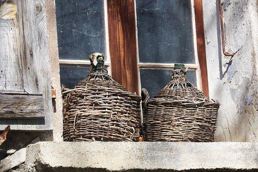 Window, Cylinder, Alps, France, Mountain, Nature, Farm