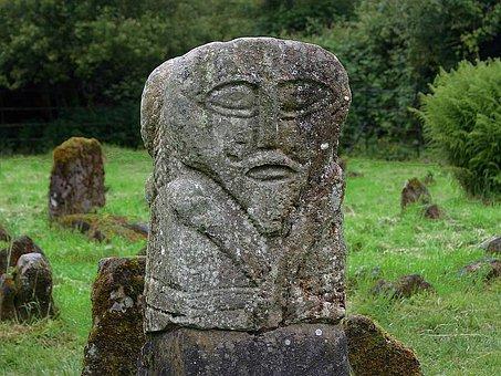 Figure, Janus, Island, Boa, Sculptures, Art