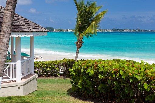 Blue, Summer, Turquoise, Caribbean, Horizon, Romantic