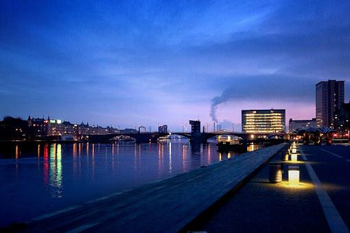 Copenhagen, Port, Kalvebod, Brew, Bryggen
