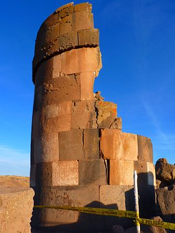 Tomb Tower, Tower, Building, Ruin, Sillustani, Peru