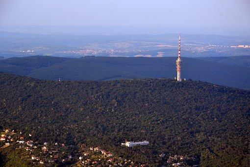 Baranya, Pecs, Tv-tower, Mecsek, Hops