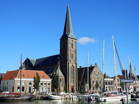 Church, House, City, Historic Center, Architecture, Sky