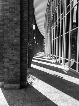 Hamburg, Fleet, Architecture, Building, Brick