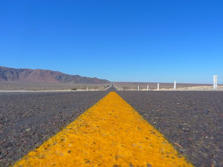 Road, Asphalt, Away, Endless, Infinite, Wide, Freedom
