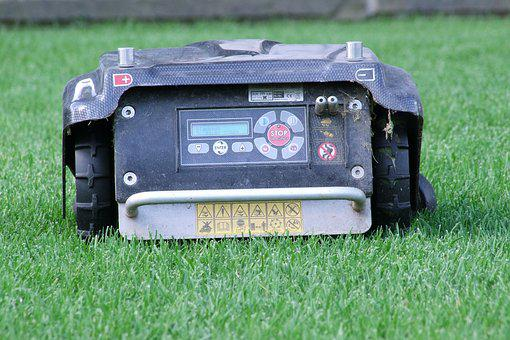 Robot Mower, Lawn Mower, Robot, Automatically, Rush