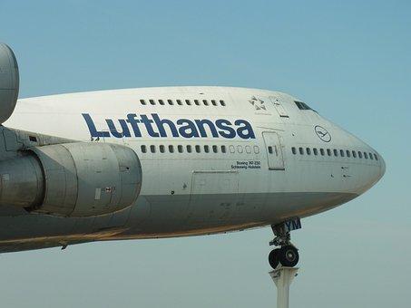 Lufthansa, Aircraft, Aviation, Boeing, Travel, Airliner