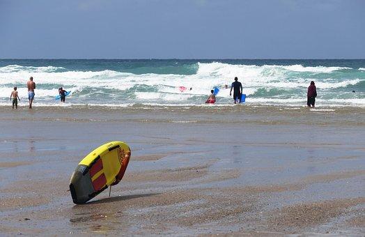 Beach, Surf Board, Surf, Surfing, Board, Summer, Sport