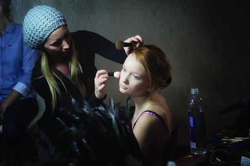 Mode, Make Up, Fashion, Face Powder, Woman, Body