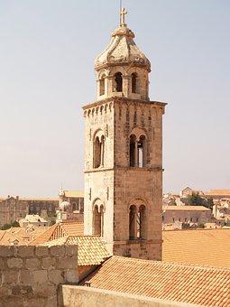 Dubrovnik, Croatia, Sea, Adriatic, City, Architecture