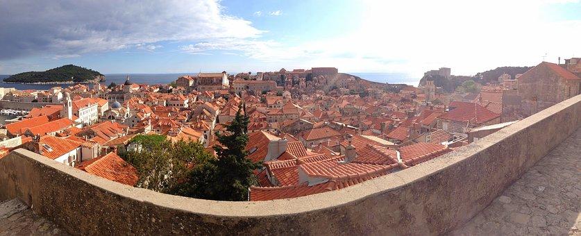 Dubrovnik, Croatia, Travel, Europe, Old, City, Town