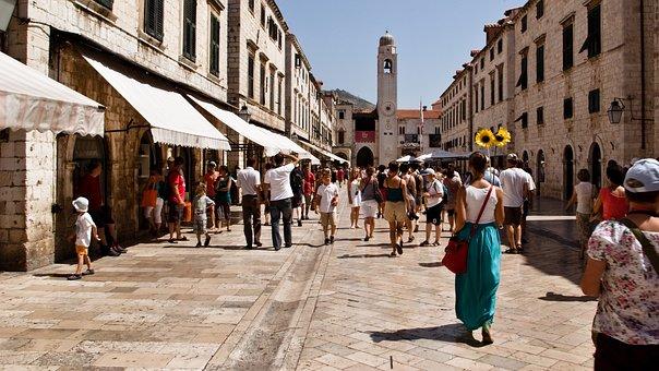 Croatia, Dubrovnik, Europe, City, Old, Architecture