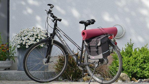 Wheel, Bike, Mat, Yoga, Two Wheeled Vehicle, Cycling