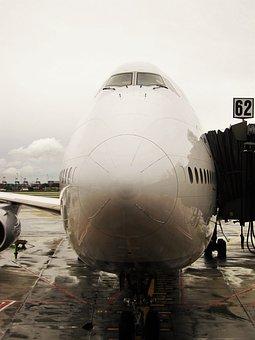 Jumbo Jet, Docked, Lufthansa 747-830 Lower Saxony