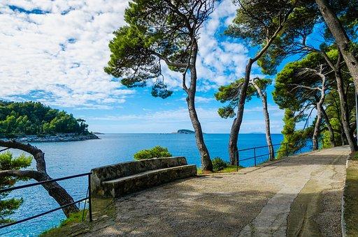 Cavtat, Croatia, Hrvatska, Adriatic, Dubrovnik, Tourism