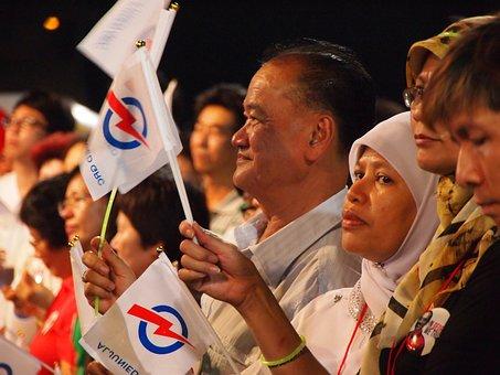 Singapore, Rally, Election, Politics