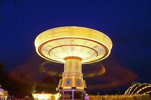 Fair, Theme Park, Year Market, Folk Festival, Carousel