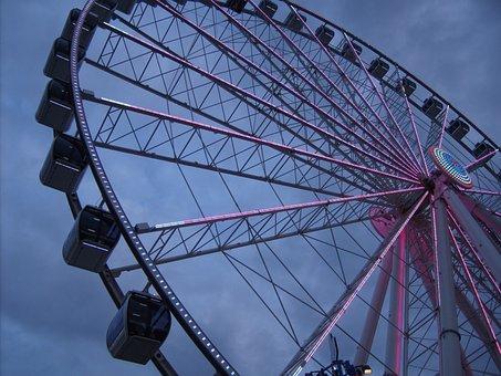 The Island, Ferris Wheel, Wheel, Park, Amusement, Fun