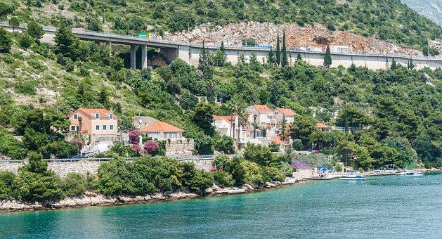 Croatia, Dubrovnik, Highway, Architecture, Europe