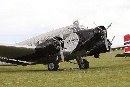 Aircraft, Auntie Ju, Ju52, Historically, Junker