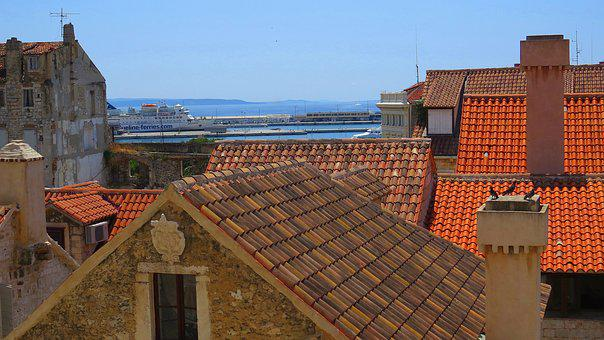 The Roofs, Houses, Old Houses, City, History