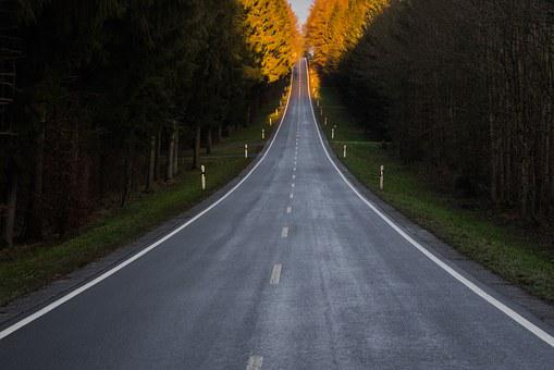 Road, Infinite, Asphalt, Wide, Freedom, Infinity