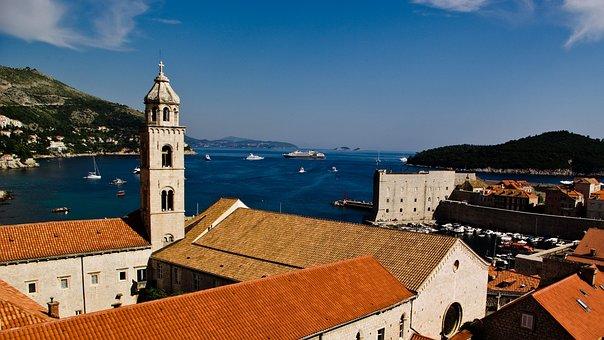 Roofs, Orange Roofs, Brown Roofs, Dubrovnik, Island