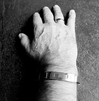 Hand, Man, Jewellery, Bracelet, Ring, Right Hand