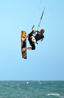 Kite, Surf, Water Sports, Sport, Sea, Kite Surf, Surfer