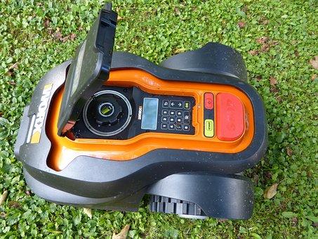 Lawn Mower, Robot Mower, Robot, Grass