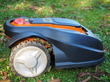 Lawn Mower, Robot, Robot Mower, Automatically