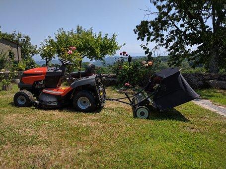 Lawn Mower, Tractor, Barredora