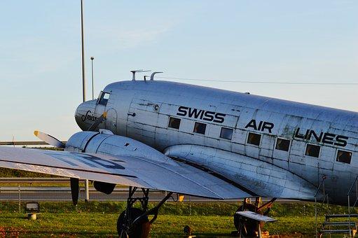 Lufthansa, Old Aircraft, Munich Airport, Exhibition
