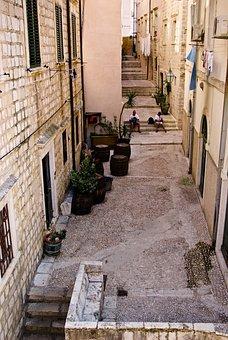 Street, Old Town, Monuments, Dubrovnik, Croatia