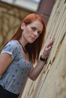 Model, Girl, Redhead