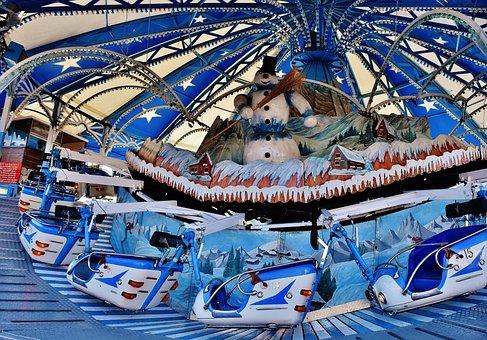 Oktoberfest, Ride, Folk Festival, Fairground, Carnies