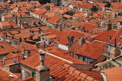 Roofs, Roof Tiles, Red, Dubrovnik, Rooftops, Tiles