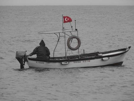 Scholarship, Mudanya, Boat In Turkish, Flag, Trip