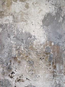 Texture, Background, Pattern, Scratched, Concrete Wall